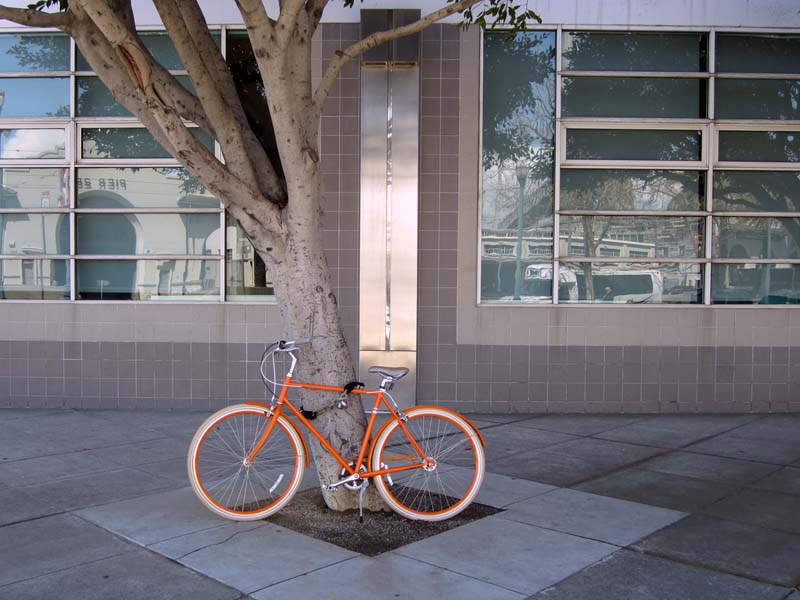 OrangeBicycle