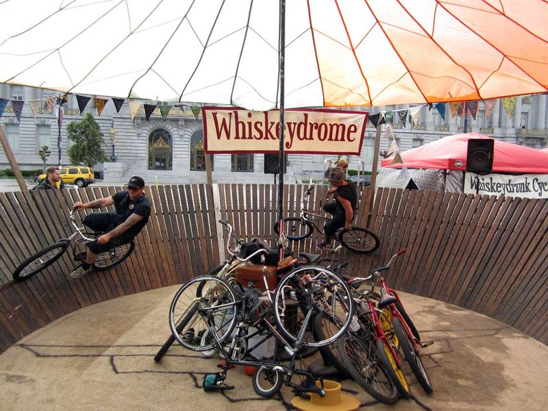 Whiskeydrome bicycles San Francisco earth day 2012