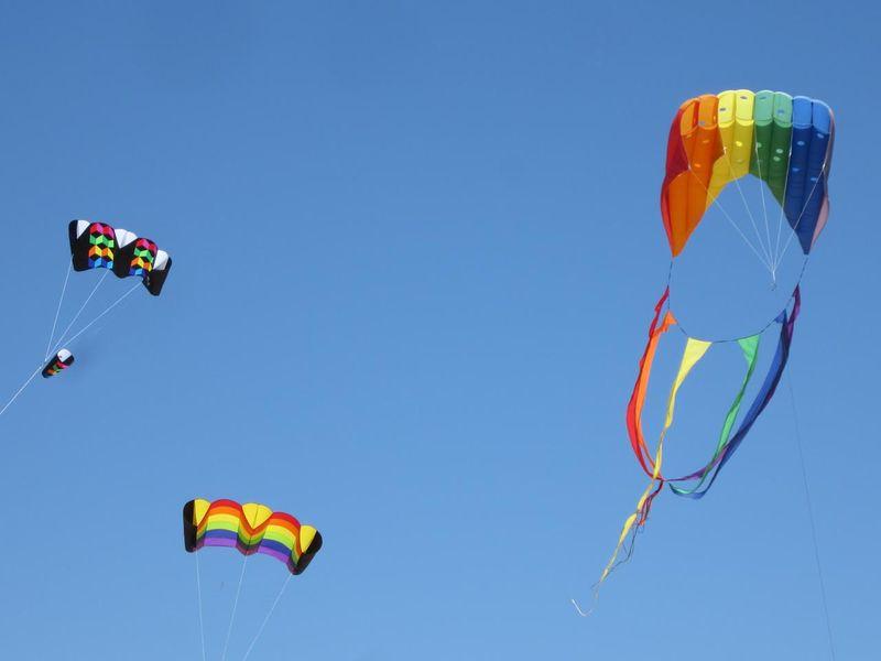Three kite - photo by max clarke