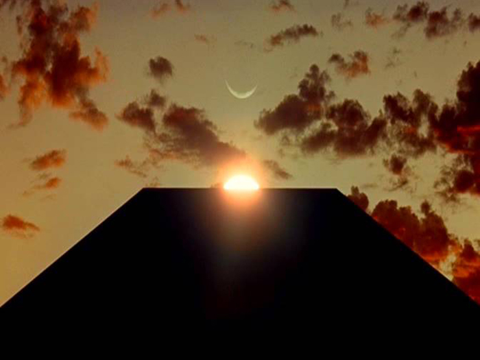 Moon-Monolith-Sun - photo from 2001 A Space Odyssey