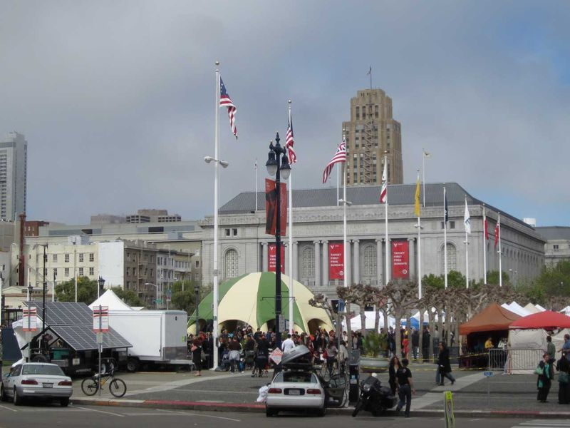 Earth day 2012 venue San Francisco