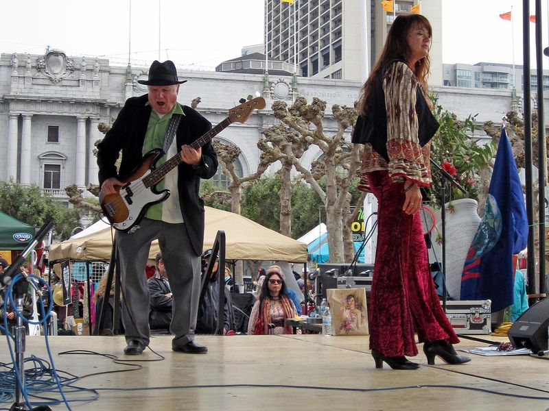 Guitarist Peter Albin earth day 2012 san francisco