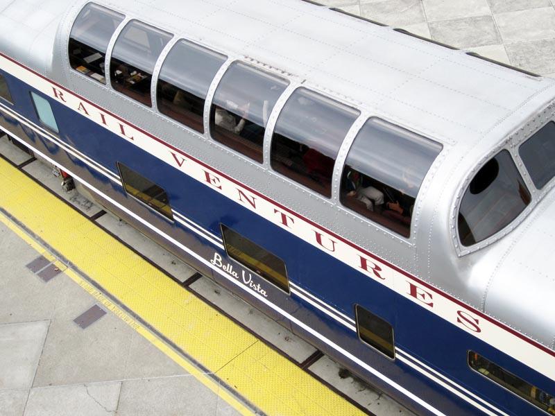 Windows of Rail Car - photo by Max Clarke