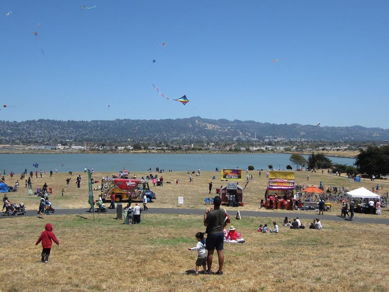 Berkeley From The Kite Festival - photo by max clarke