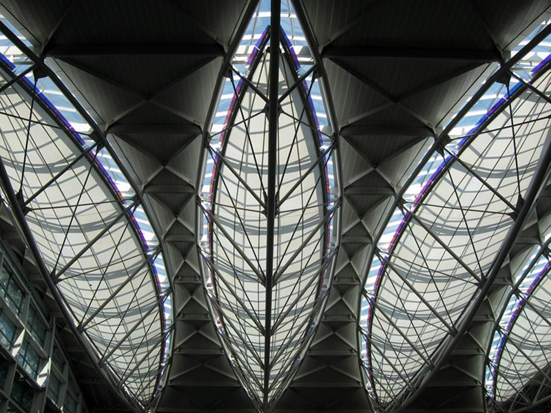 Translucent Ceiling SFO © photo by Max Clarke
