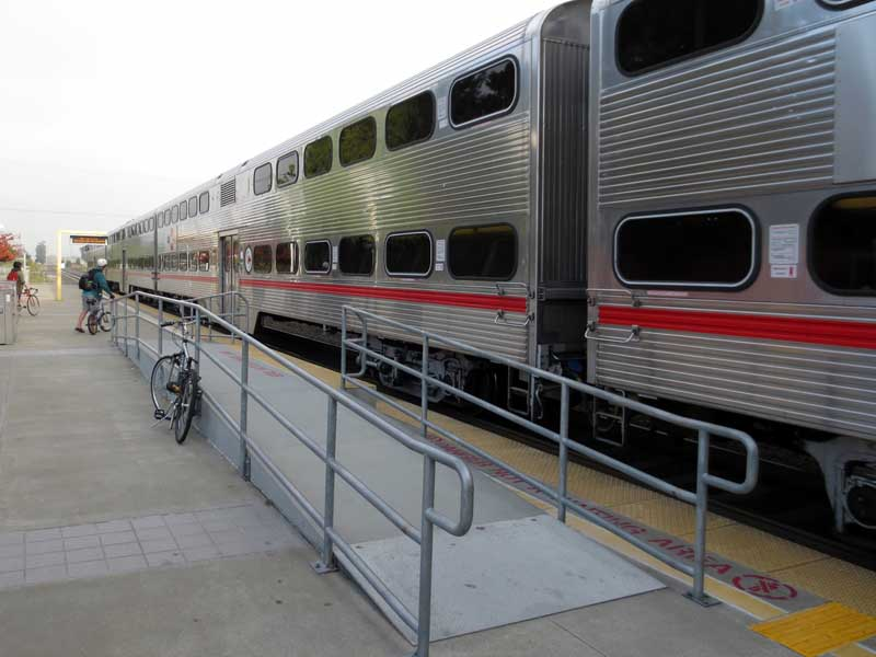 Caltrain - photo by Max Clarke