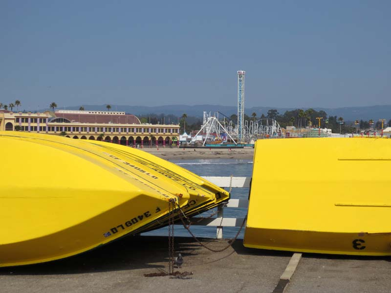 Yellow Boats - photo by Max Clarke