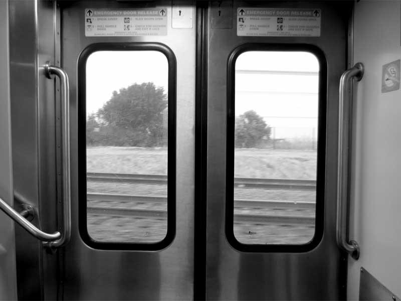 Interior Rail Car - photo by Max Clarke