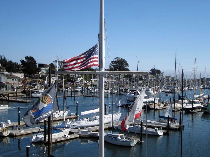 Santa Cruz Small Craft Harbor - photo by Max Clarke