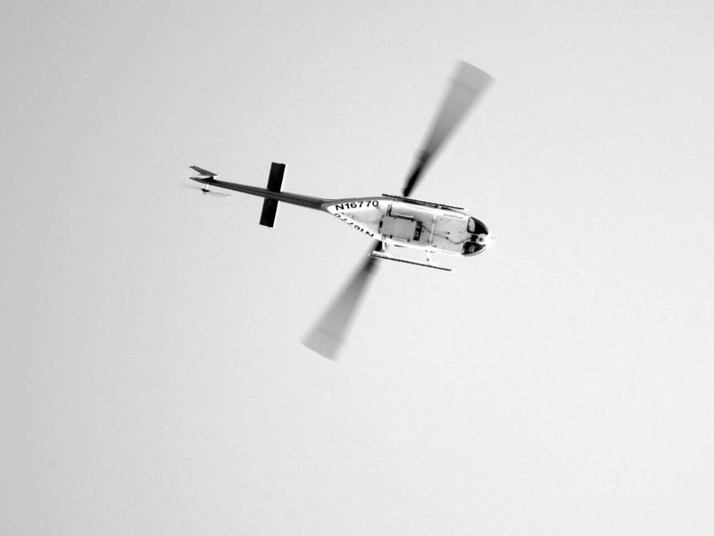 Helicopter © photo by Max Clarke
