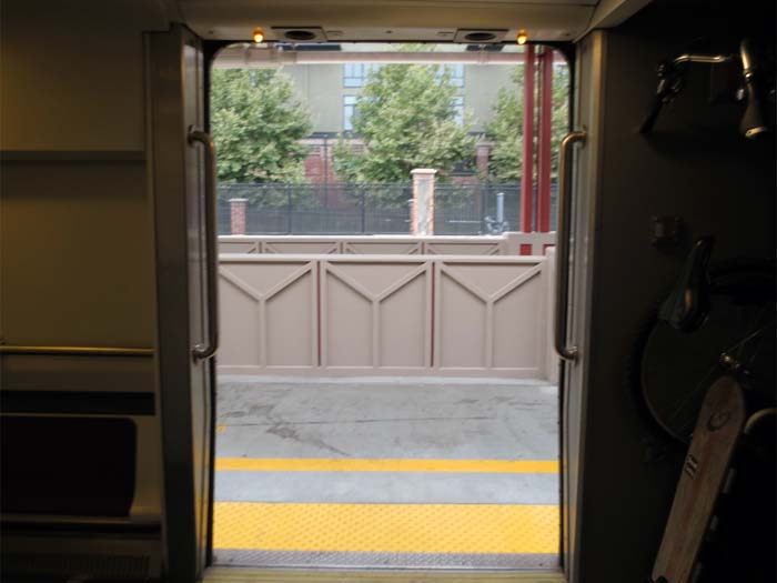 Open Door at Diridon - photo by Max Clarke