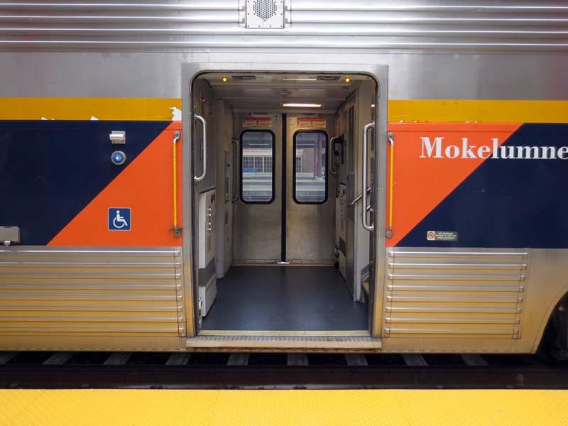 Railcar Doors Open  - photo by Max Clarke