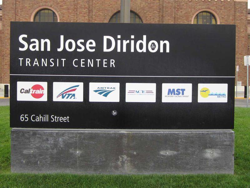 San Jose Diridon Transit Center - photo by Max Clarke