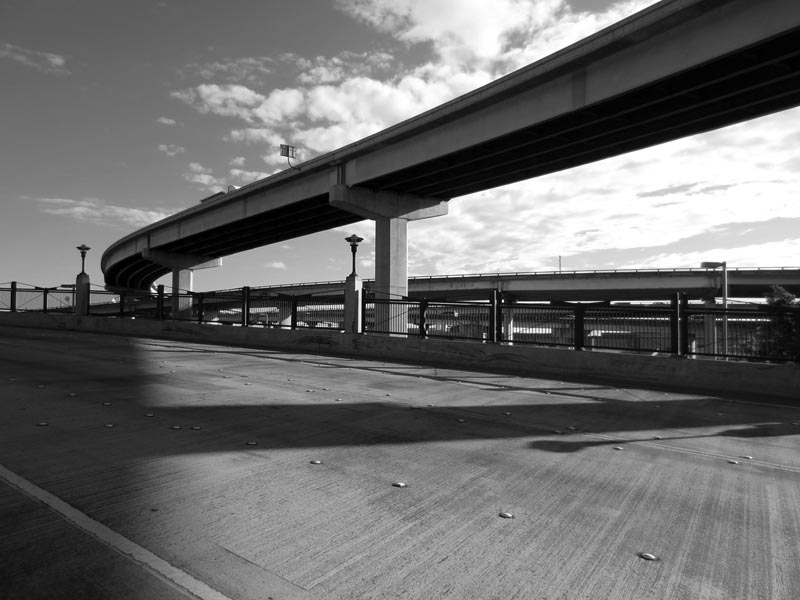 Highway Overpass - photo by Max Clarke