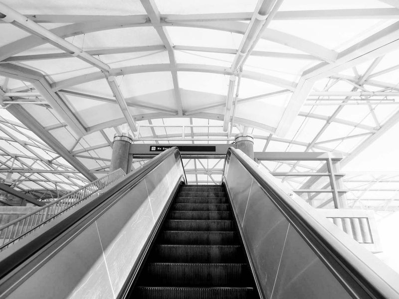 Escalator Up © photo by Max Clarke