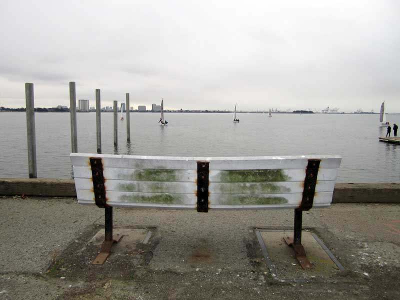 Marina Bench © photo by Max Clarke
