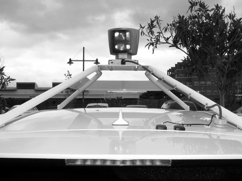 BW conversion - Top of Google Self-Driving Car