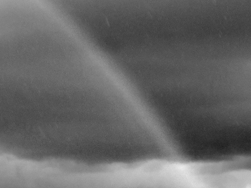 Monochrome Rainbow -©- photo by Max Clarke