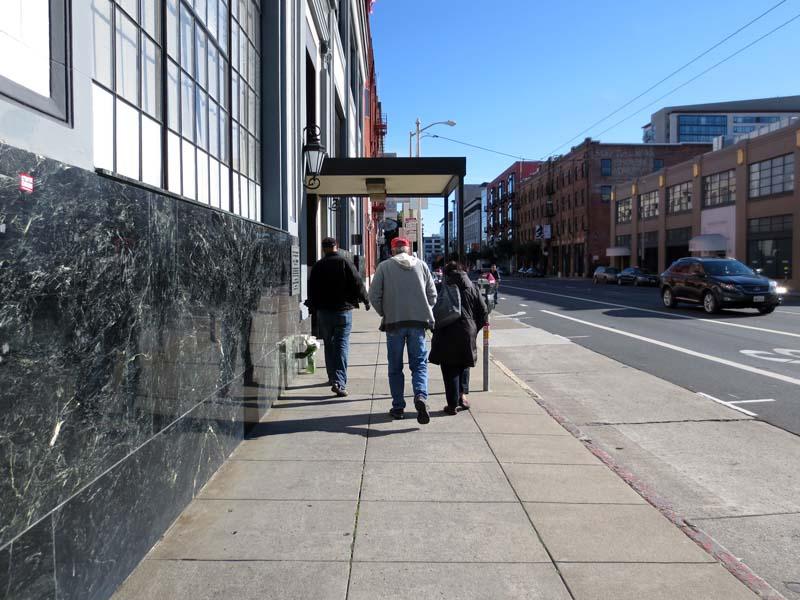 Location of 615 Third Street San Francisco -©- photo by Max Clarke