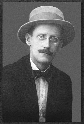 James Joyce by Alex Ehrenzweig-wikipedia