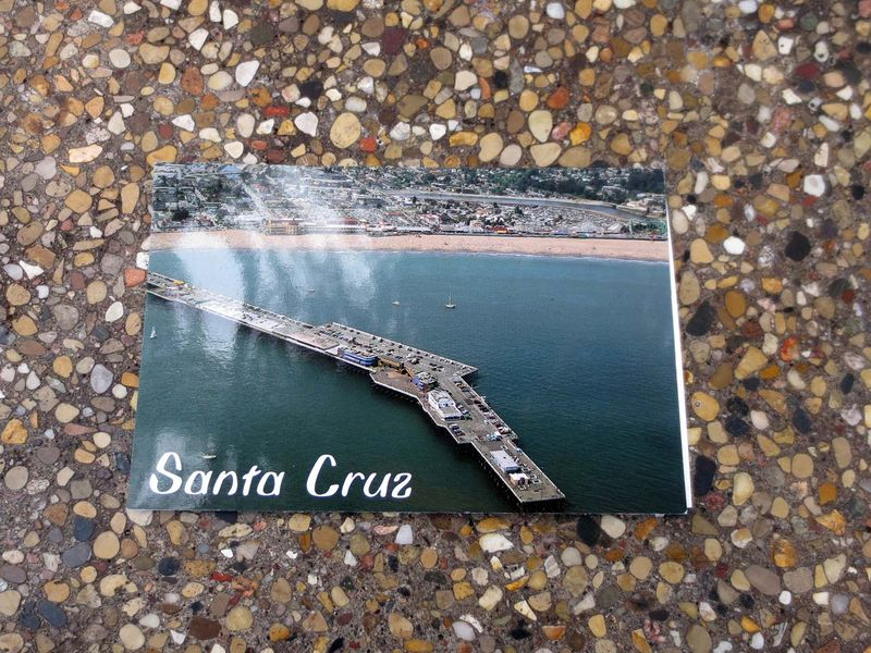 Postcard 1 from Santa Cruz