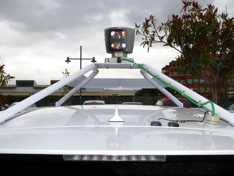 Top of Google Self-Driving Car