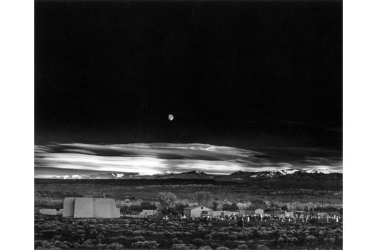 Moonrise, Hernandez, New Mexico- Ansel Adams