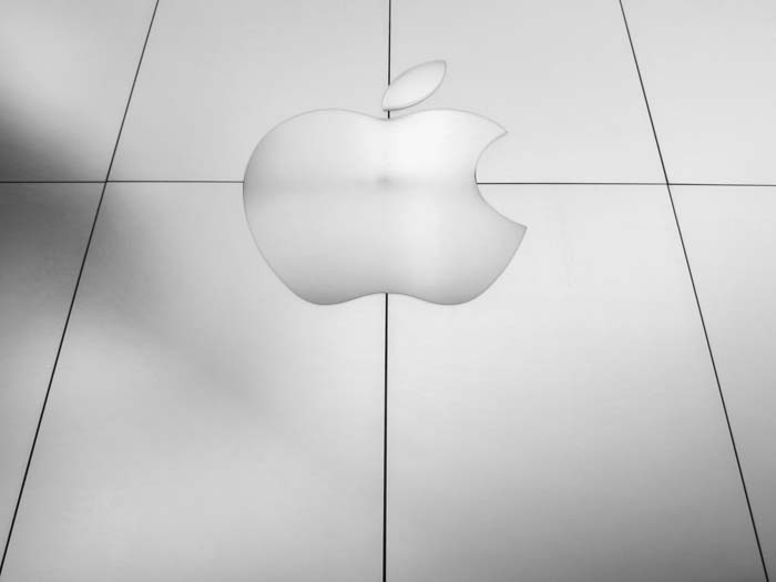 Apple Logo-photo by Max Clarke