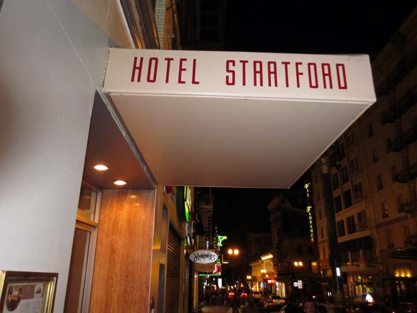 Hotel Staatford or Startford or Stratford © photo by Max Clarke
