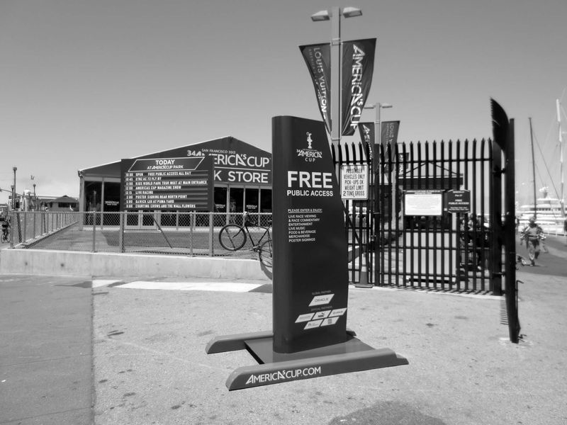 America's Cup Park -©- photo by Max Clarke