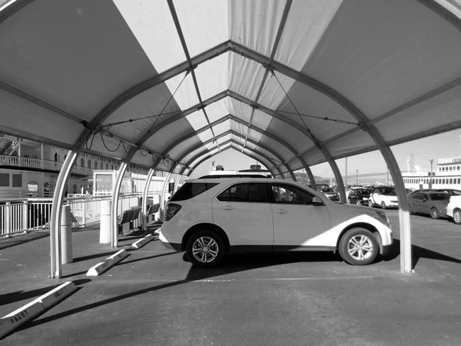 Tented Cars -©- photo by Max Clarke