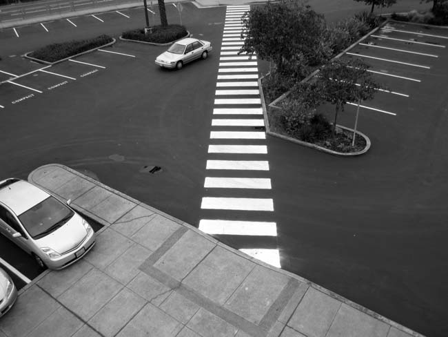 Crosswalk -©- photo by Max Clarke