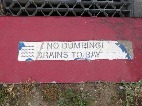 No Dumping Brains © photo by Max Clarke