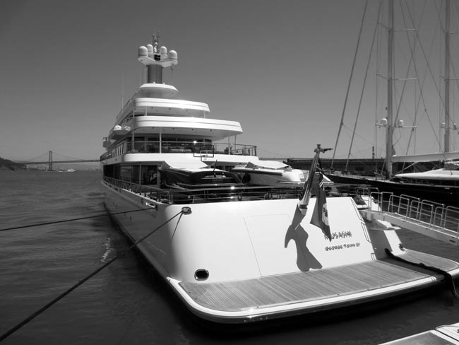 Superyacht Musashi -©- photo by Max Clarke