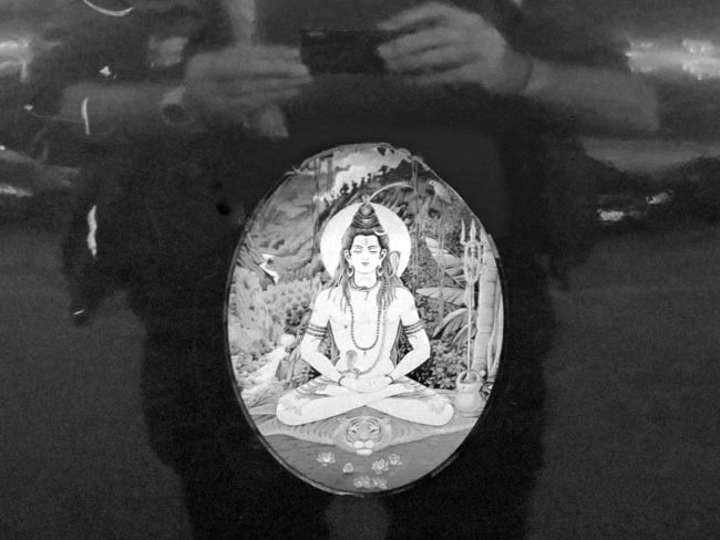 Shiva Sticker -©- photo by Max Clarke