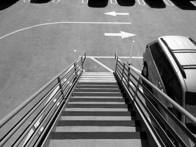 Stairs and Arrows -©- photo by Max Clarke