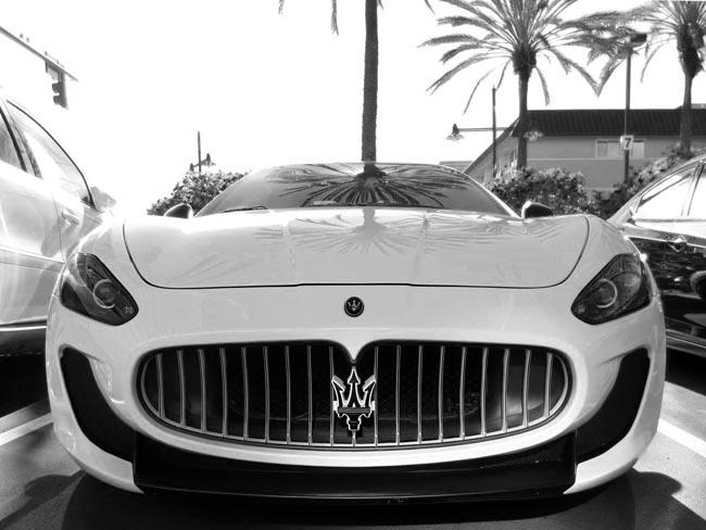 Maserati -©- photo by Max Clarke