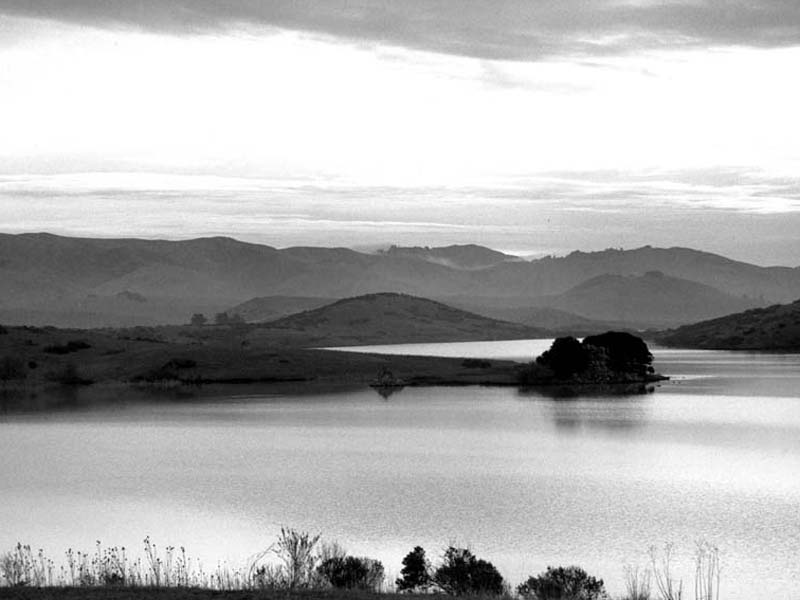 Nicasio Reservoir © JM Clarke All Rights Reserved