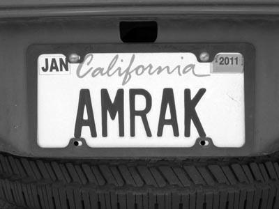Amrak bw © 2014 JM Clarke all rights reserved