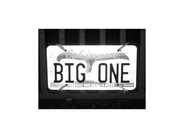 Big One plate - Max Clarke
