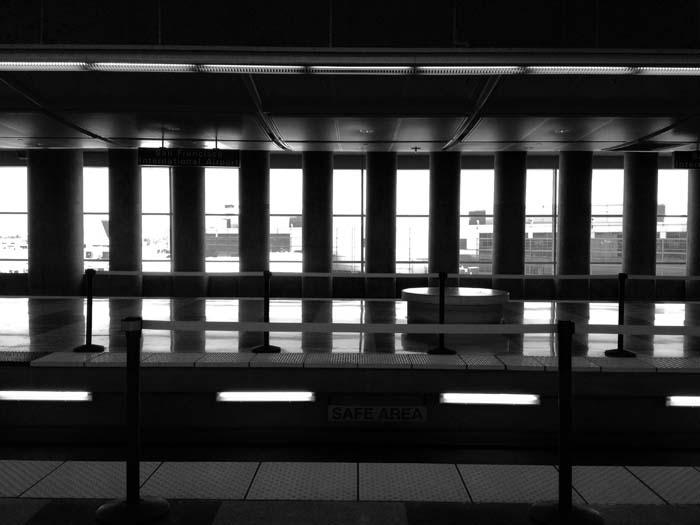 BART Station At SFO -©- Max Clarke