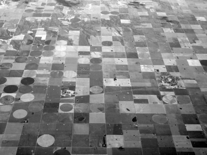 Kansas Farms -©- Max Clarke