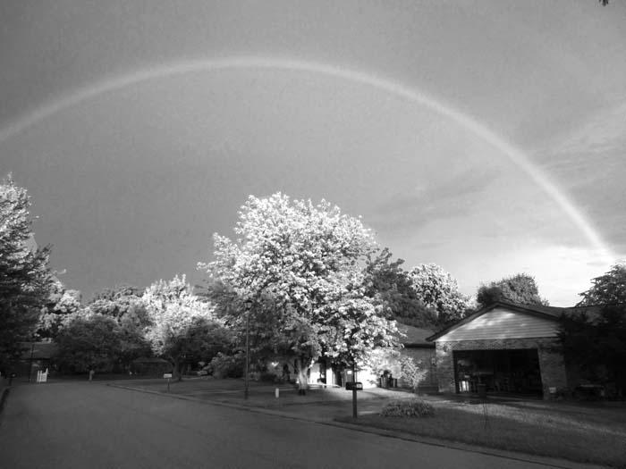 Wide Rainbow -©- Max Clarke