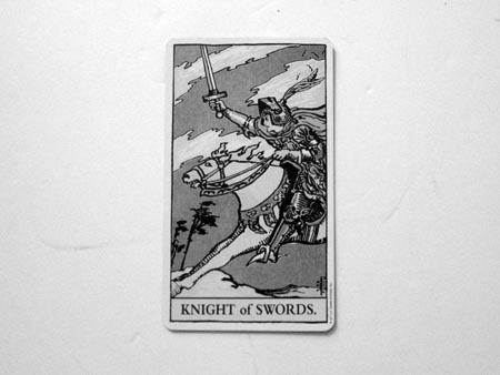 Knight Of Swords - Max Clarke