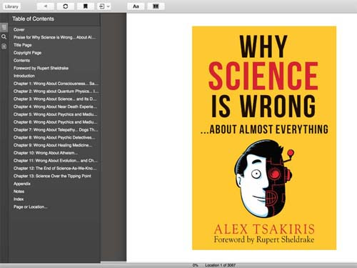 Why Science Is Wrong cover photo --  Max Clarke