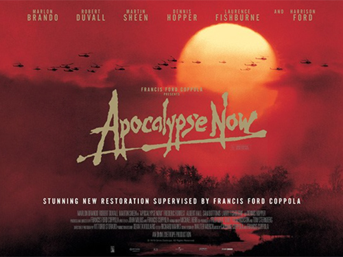 Movie Poster APOCALYPSE NOW with Laurence Fishburne