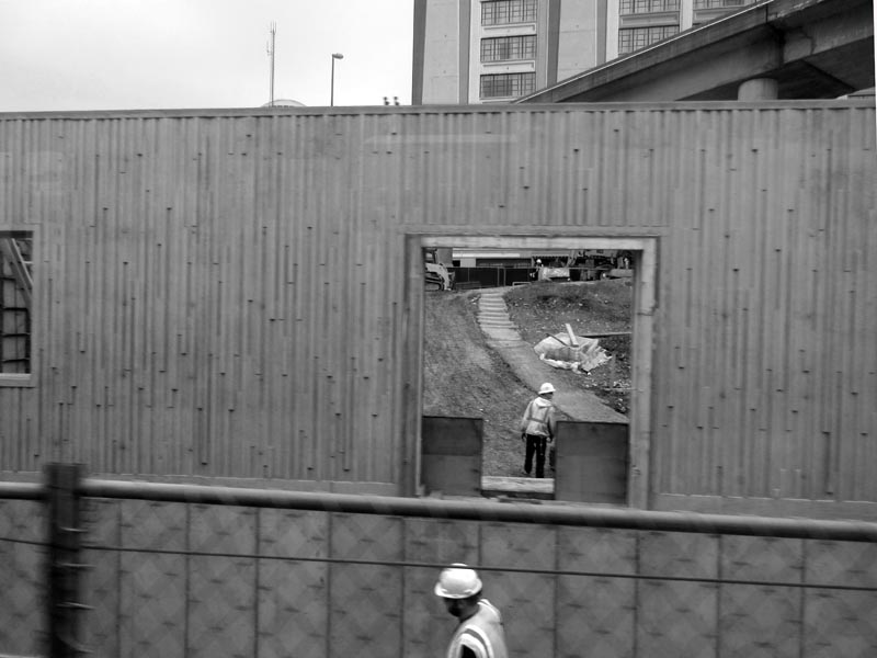 12 Construction site from Metrolink - Max Clarke