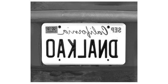 6 oakland backwards