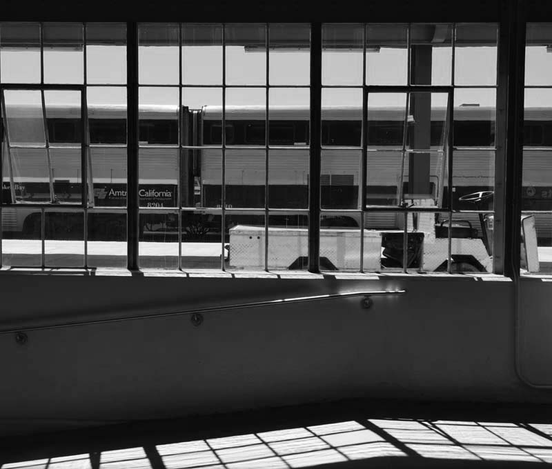 Diridon Windows - bw one - max clarke
