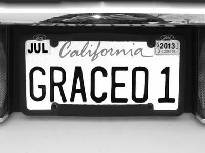 Grace 01 -bw- Max Clarke